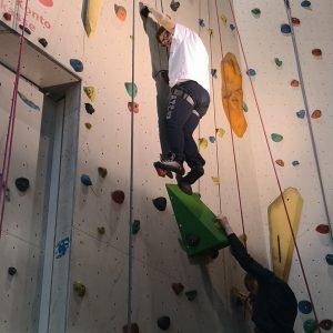 Fotos beim Klettern